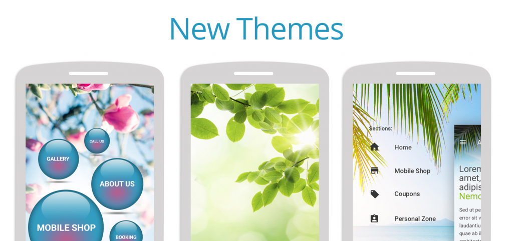 From today, you can choose from more than 200 different themes.